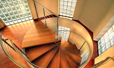 Типы деревяных лестниц