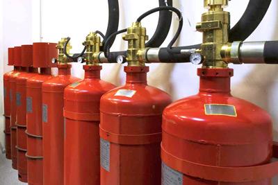 Газовые системы автоматического пожаротушения