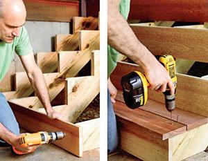 Монтаж и конструирование винтовой лестницы