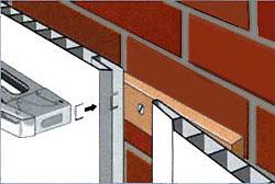 Стеновые панелеи ПВХ крепятся скобами