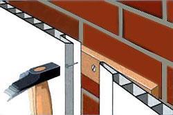 Стеновые панелеи ПВХ крепятся гвоздями