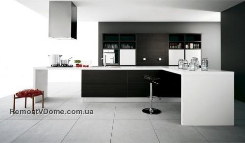 42 черно белые кухни фото 395