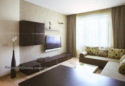 Дизайн интерьера гостиной в панельном доме